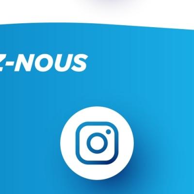 Suivez-nous sur Instagram