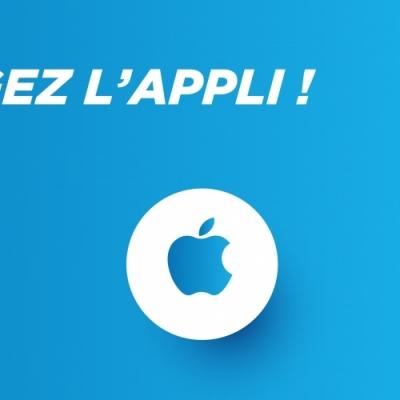 Téléchargez l'appli sur l'AppStore 🍎